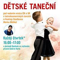 Dětské taneční v Galerii Harfa