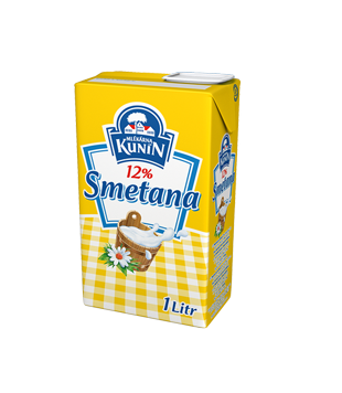 Kunín Smetana na vaření 12 %
