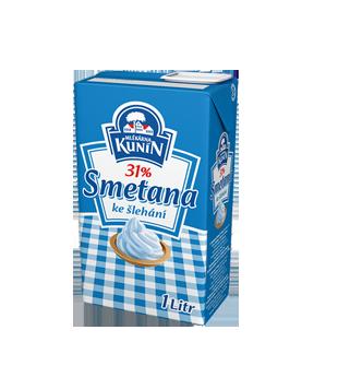 Kunín Smetana ke šlehání 31 %