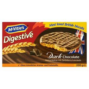McVitie's Digestive s hořkou čokoládou 200g