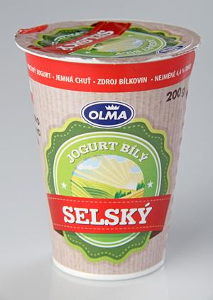 Olma Selský jogurt bílý