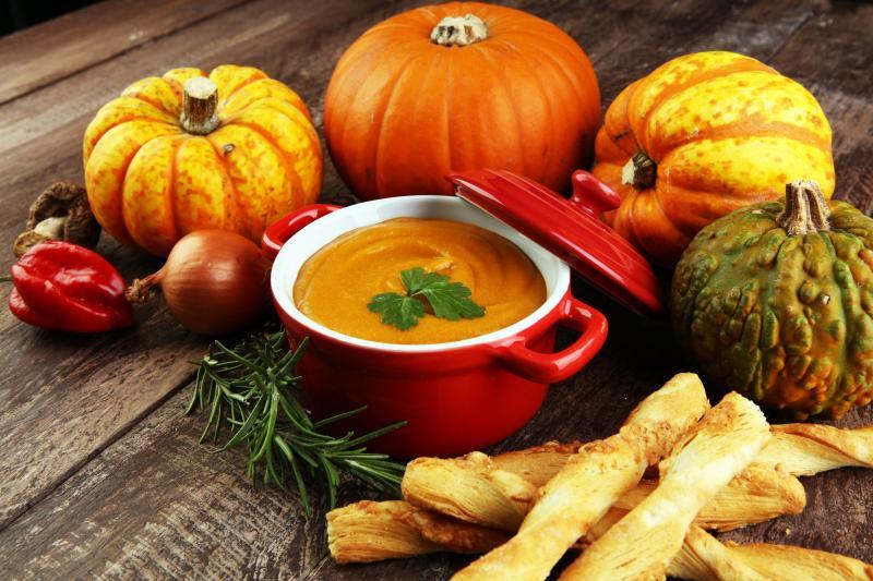 Snadný a rychlý recept na dýňovou polévku