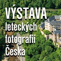 Výstava leteckých fotografií v OC Nisa Liberec