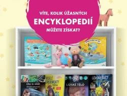 V hlavní roli encyklopedie. Albert přináší už počtvrté sběratelskou kampaň Dětská knihovnička