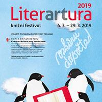 Knižní festival LITERARTURA 2019 v pražském DBK