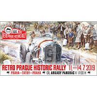 Retro Prague Historic Rally finišuje u OC Arkády Pankrác