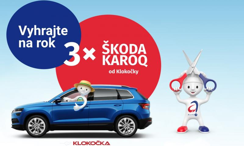 Dejte do svého košíku oceněné potraviny a vyhrajte na rok auto ŠKODA KAROQ!