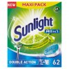 Sunlight Tablety do myčky nádobí 62 ks, vybrané druhy