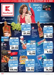 Leták Kaufland 14.4. - 20.4. - Kaufland - Ostrava - Zábřeh