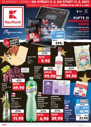 Leták Kaufland 5.5. - 11.5. - Kaufland - Jablonec nad Nisou (U Kostela)