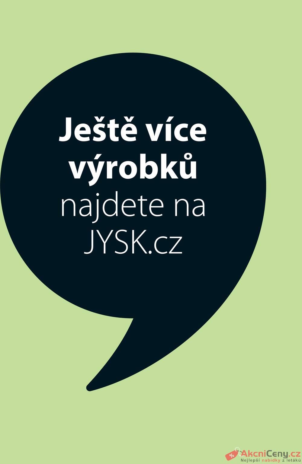 Leták Jysk - Jysk do 16.6. - strana 1