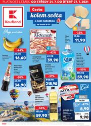 Leták Kaufland 21.7. - 27.7. - Kaufland - Ústí nad Labem (Všebořická)