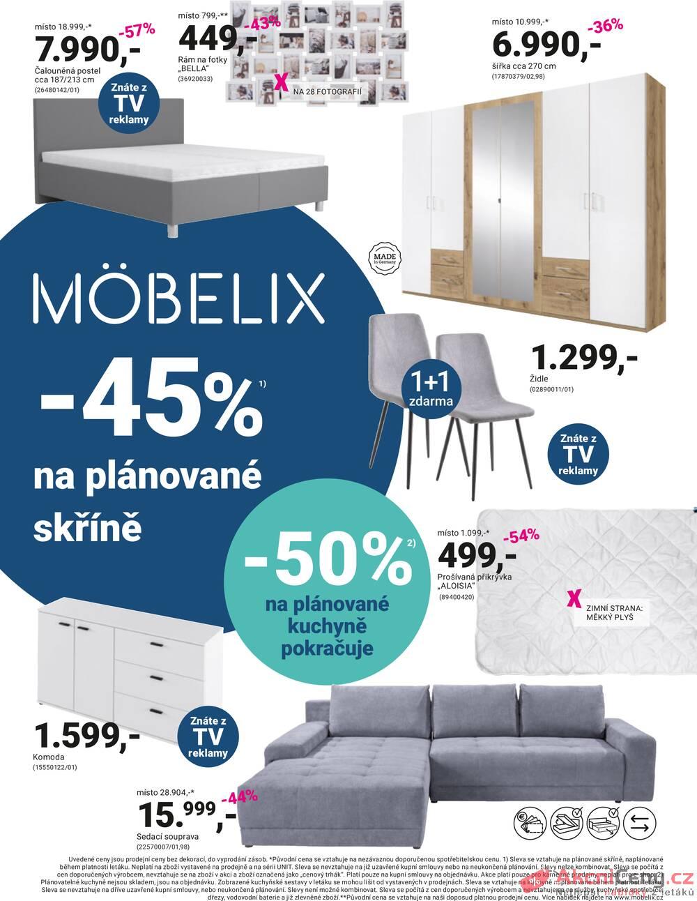 Leták Möbelix - Möbelix od 11.10. do 24.10.2021 - strana 1