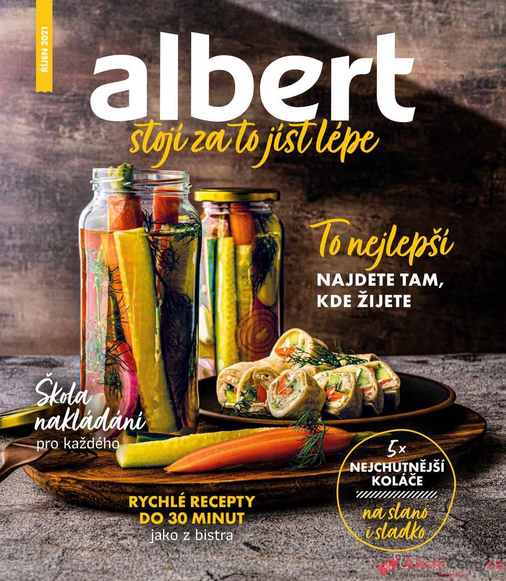 Leták Albert - Albert Magazín 29.9. - 2.11. - strana 1