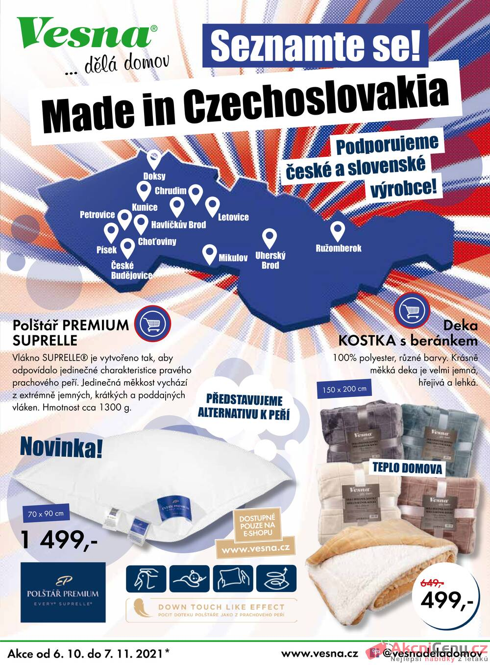 Leták Vesna - Vesna od 6.10. do 7.11.2021 - strana 1