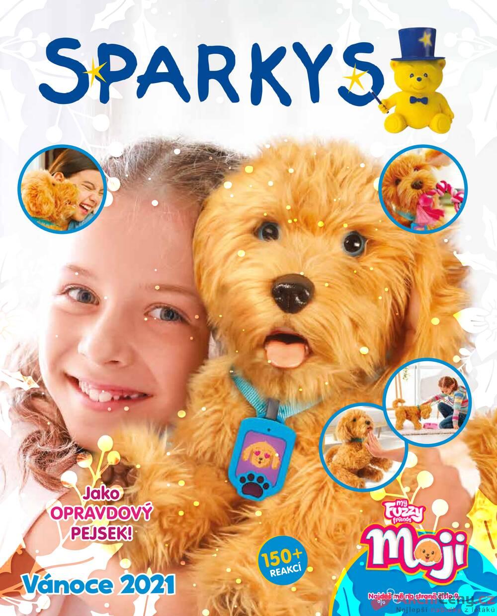 Leták Sparkys - Sparkys od 15.10. do 31.12.2021 - strana 1