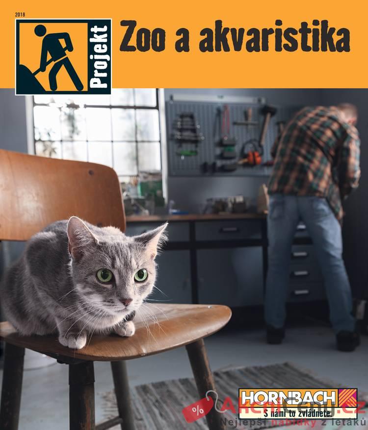 Leták Hornbach - Hornbach Zoo a akvaristika 31.10. - 31.1. - strana 1