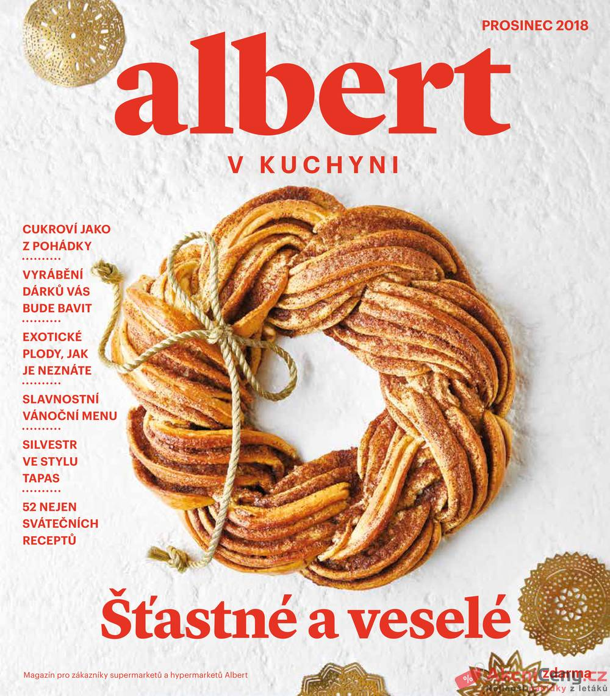 Leták Albert - Albert magazín 28.11. - 9.1. - strana 1