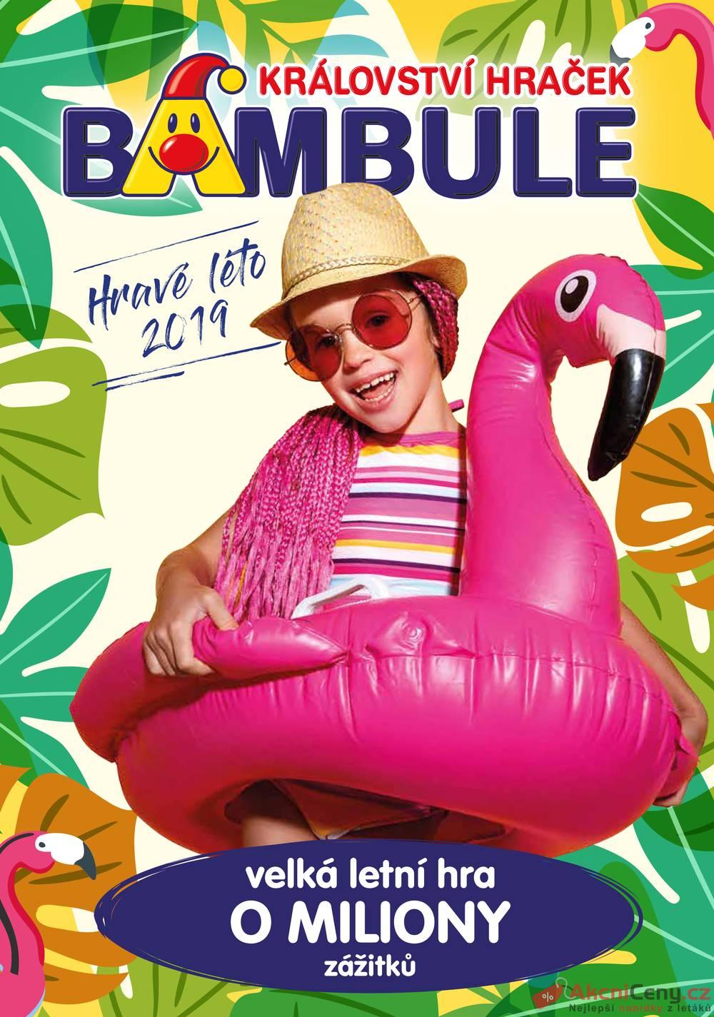 Leták Bambule - Bambule 1.5. - 11.8. - strana 1