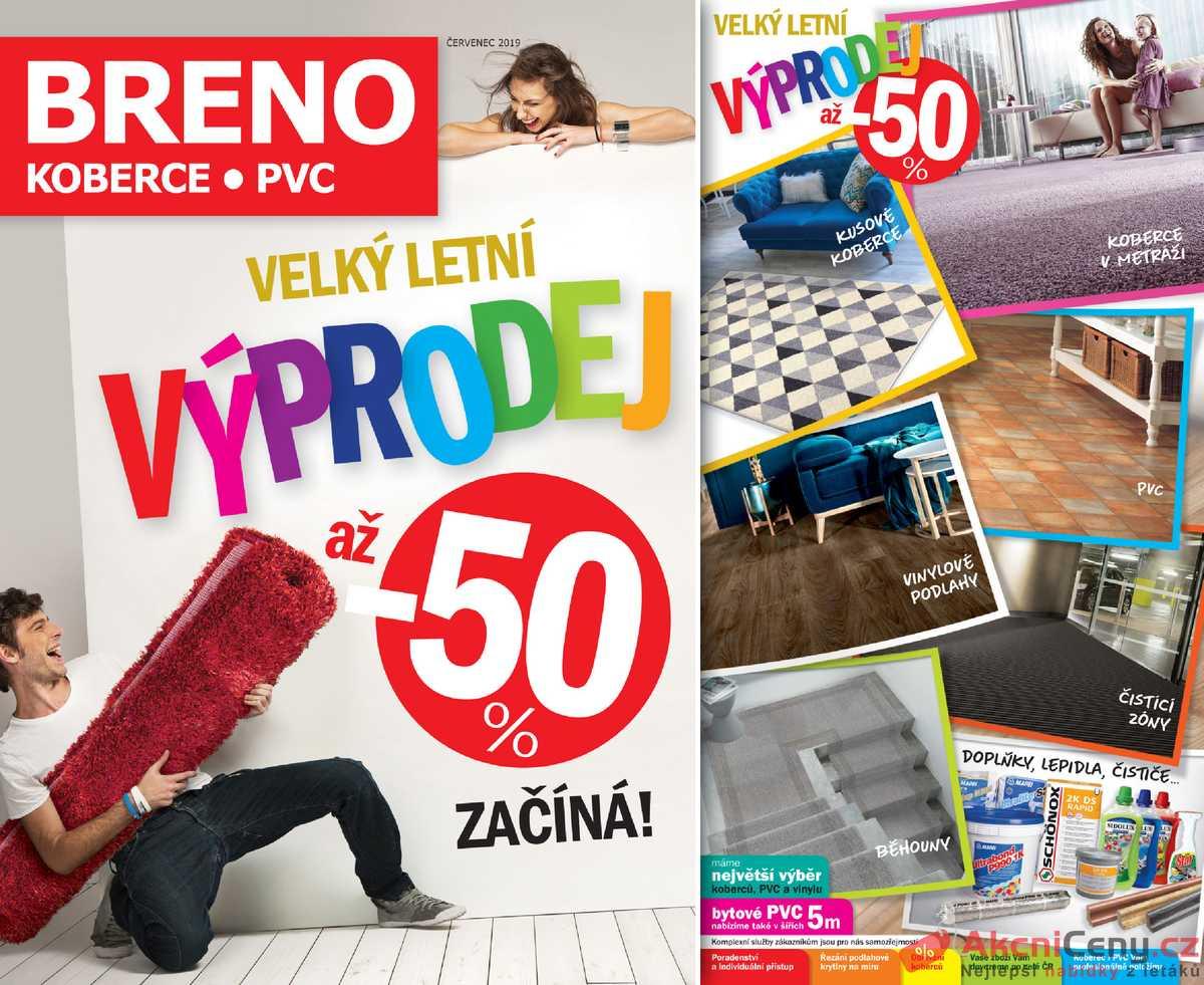 Leták Koberce BRENO - Koberce Breno 1.7. - 31.7. - strana 1