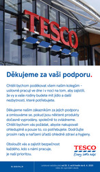 Leták Tesco supermarkety od 25.3. do 6.4.2020