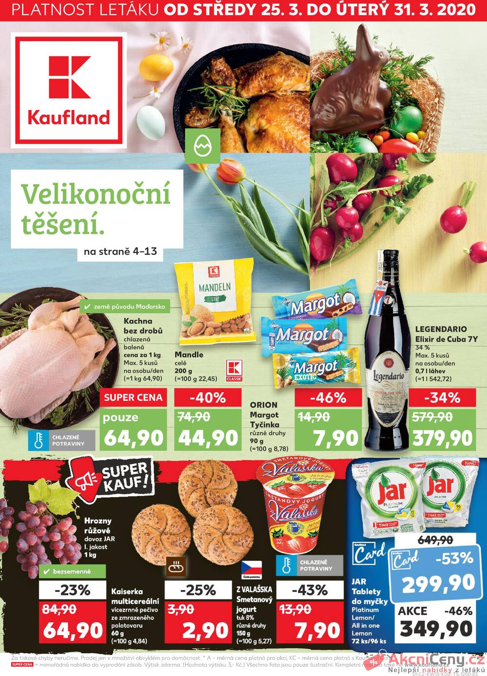 Leták Kaufland - Kaufland 25.3. - 31.3. - Kaufland - Ostrava - Zábřeh - strana 1