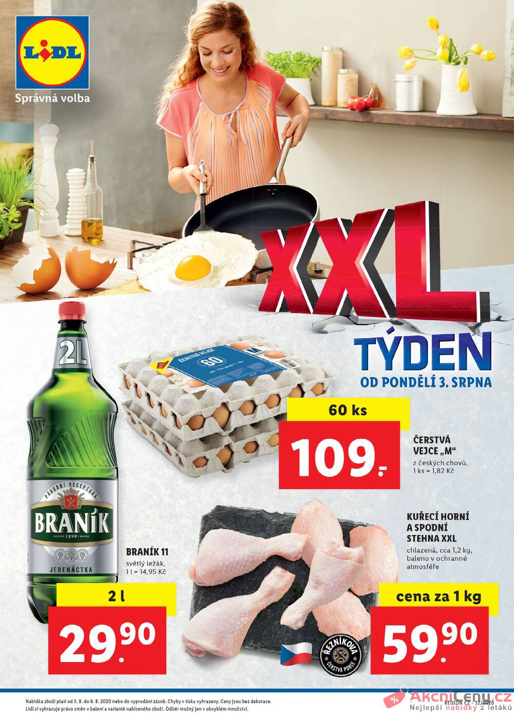 Leták Lidl - Lidl XXL týden od 3.8. do 9.8.2020 - strana 1