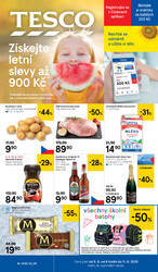 Leták Tesco malé hypermarkety od 5.8. do 11.8.2020