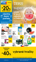Leták Tesco supermarkety od 12.8. do 18.8.2020