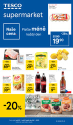 Leták Tesco supermarkety od 20.1. do 26.1.2021