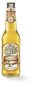Kingswood cider 0,4l, vybrané druhy