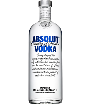 Absolut Vodka 1l v akci