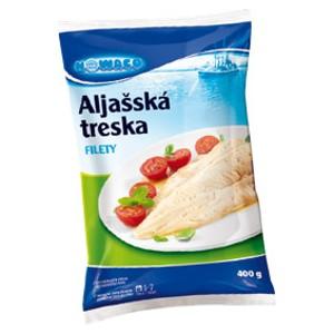 Aljašská treska, filety