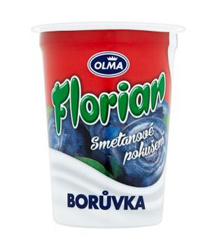 Florian Smetanové pokušení jogurt 150g, různé druhy