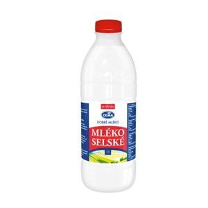 Mléko čerstvé Selské