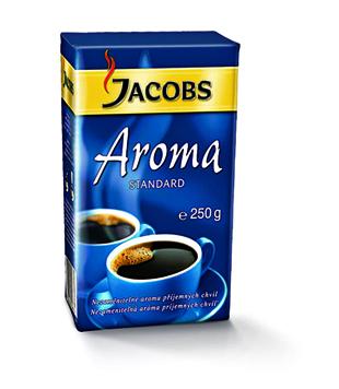 Jacobs Aroma Standard mletá káva 250g v akci