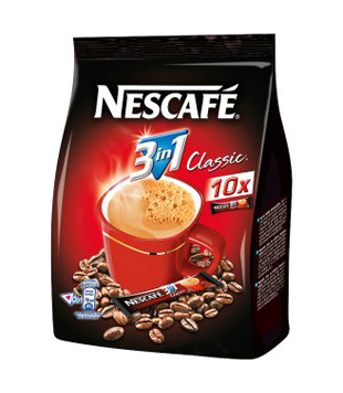 Nescafé Classic 3v1 (2v1) instantní káva (10 kusů)