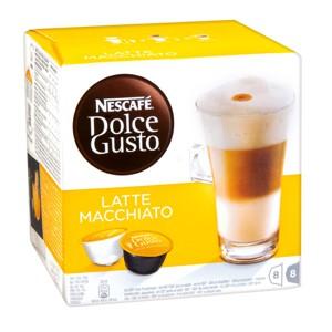 kávové kapsle Nescafé Dolce Gusto, různé druhy