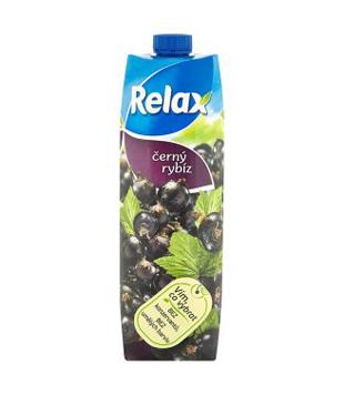 Relax ovocný nápoj 1l, různé druhy