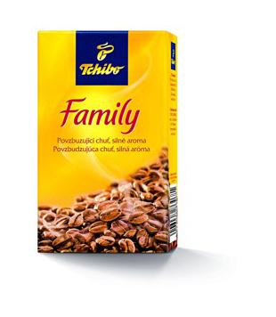 Tchibo Family mletá káva