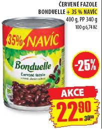 červené fazole Bonduelle