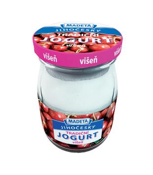 Jihočeský jogurt tradiční, ovocný, 2,5 %