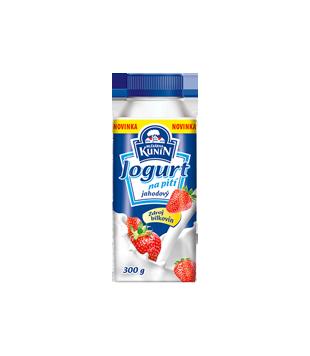 Kunín Jogurt na pití jahodový