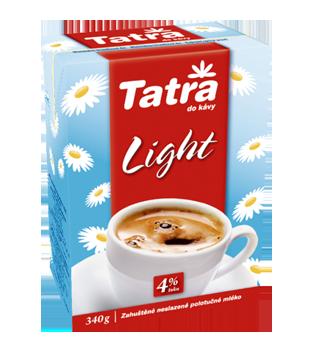 Tatra Light kondenzované neslazené mléko 4 %