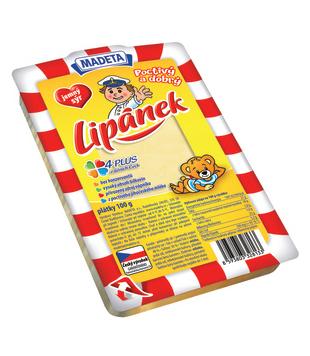 Lipánek plátkový sýr 48%