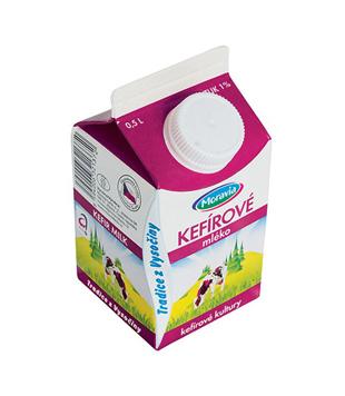 kefírové mléko Moravia 1%