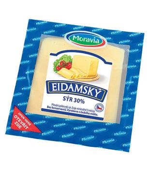 plátkový sýr eidam Moravia 30%