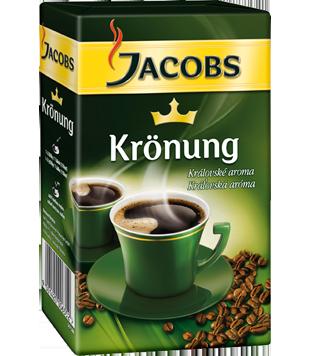 Jacobs Krönung mletá káva 250g