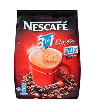 instantní káva Nescafé Classic 3v1 (20 kusů)