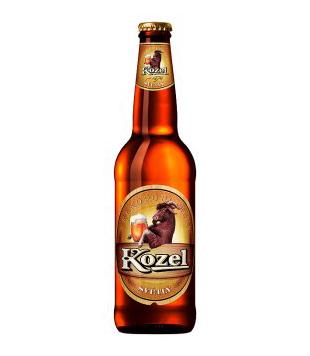 Velkopopovický Kozel Světlý, výčepní pivo 0,5l